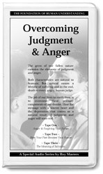 Overcoming Judgement & Anger - 6 CDs