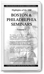 Highlights Of The 1998 East Coast Seminars Vol 1 Parts 1-6 (12 CDs)