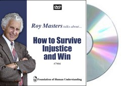 How to Survive Injustice and Win - Video DVD