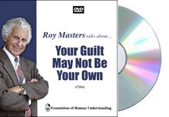 Your Guilt May Not Be Your Own  - Video DVD