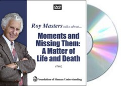 Moments and Missing Them:  A Matter of Life and Death  - Video DVD
