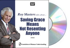 Saving Grace Means Not Resenting Anyone   - Video DVD