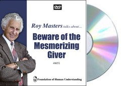 Beware of the Mesmerizing Giver - Video DVD