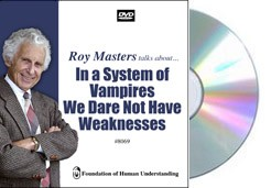 In a System of Vampires We Dare Not Have Weakness  - Video DVD