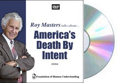 America's Death By Intent  - Video DVD