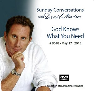 """God Knows What You Need"" -  DVD"