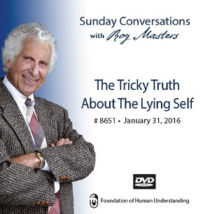 """The Tricky Truth About the Lying Self"" -  DVD"