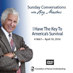 """I Have the Key to America's Survival"" -  DVD"