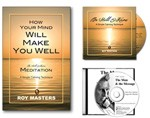 Meditation Package  - Cure Stress Book And 2 CDs
