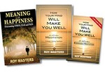 Expanded Meditation CD Pack plus two books: (1) Cure Stress: How Your Mind Will Make Your Well and (2) Meaning and Happiness