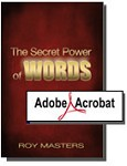 The Secret Power of Words  - New - PDF Download