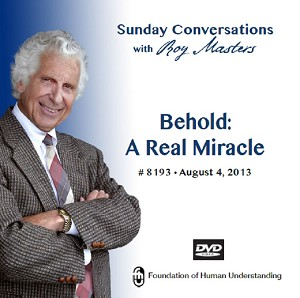 """Behold: A Real Miracle""  DVD"