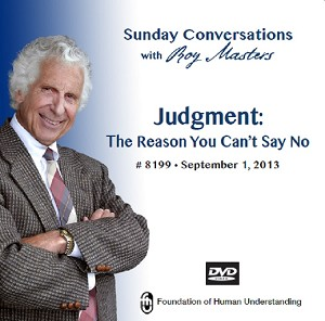 """Judgment: The Reason You Can't Say No""  DVD"