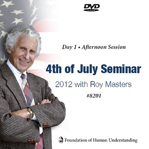 July 4th 2012 Seminar - Day 1 - PM - Video DVD
