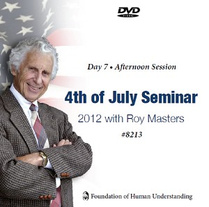 July 4th Seminar - Day 7 Afternoon - DVD