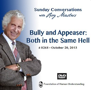 """Bully and Appeaser: Both in the Same Hell"" DVD"