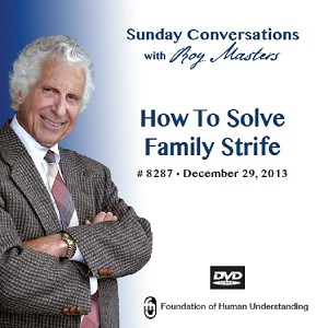 """How To Solve Family Strife"" DVD"