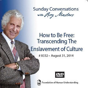 """How to Be Free: Transcending the Enslavement of Culture""  DVD"