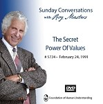 The Secret Power Of Values - February 24th 1991 -  DVD