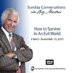 """How to Survive in an Evil World"" -  DVD"