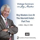 Roy Masters Live At The Marriott Hotel - Part 2 - DVD